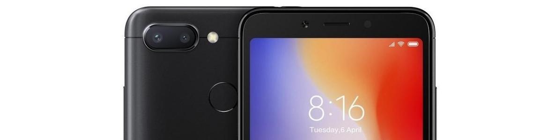 Xiaomi Redmi 6A z dużym ekranem