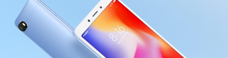 Redmi 6 – telefon wykonany z materiałów wysoce odpornych na uszkodzenia