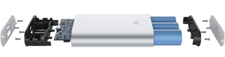 Xiaomi Powerbank 10000mAh 2S 3 generacja Srebrny - wysoki design i inteligentne funkcje