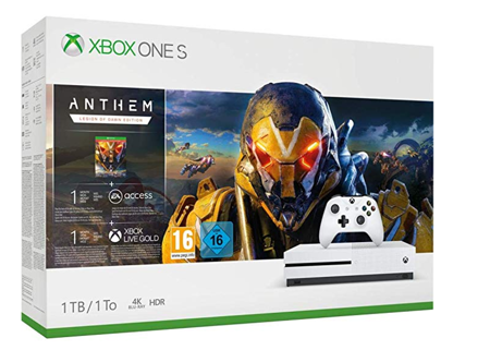 Konsola XBOX ONE S 1TB + Anthem