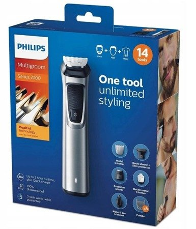 Philips MG7720/15 14w1 Multigroom Trymer