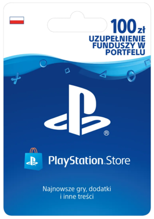 Sony PlayStation Network 100zł PSN