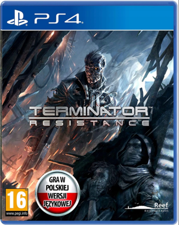 TERMINATOR RESISTANCE PLAYSTATION 4 PS4 PL FOLIA