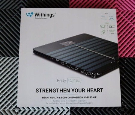Waga Withings Nokia Body Cardio Czarna Black WiFi