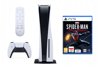 SONY PlayStation 5 z napędem + Pilot PS5 Media Remote + Spider Man Miles Morales